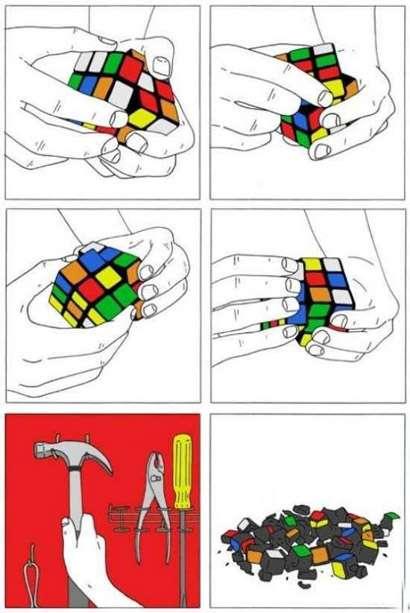 Tutorial: como acabar o cubo de rubik em seis passos