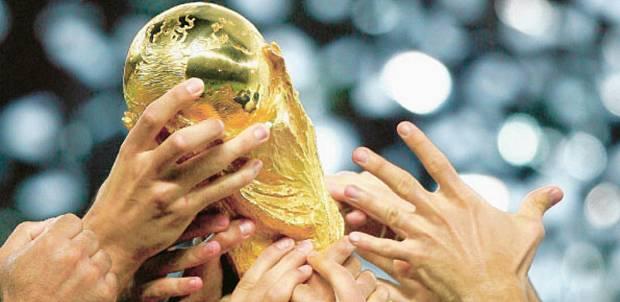 Troféu da copa do mundo de futebol