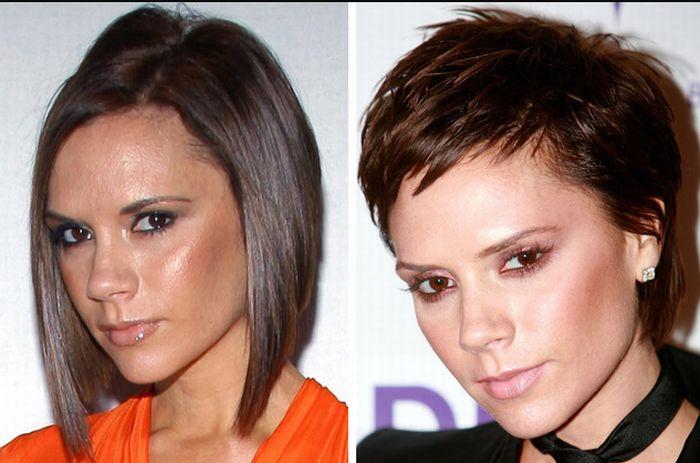 Famosos e suas radicais mudanças de penteado
