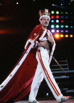 Freddie Mercury eleito o deus do rock