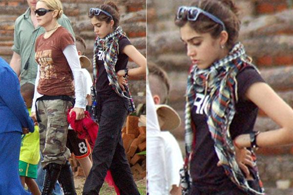 Madonna dá a filha uma mesada de 80 mil reais