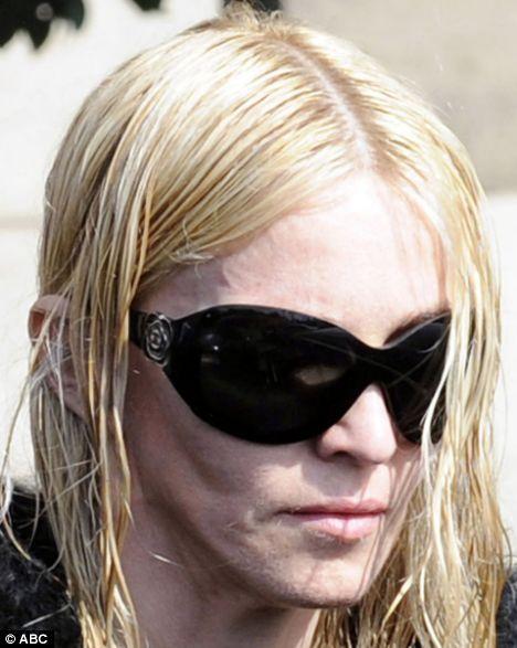 Madonna ao natural