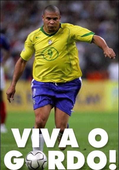 Ronaldo é escolhido como o jogador mais gordo da história.