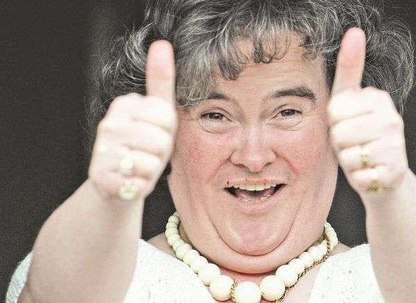 Susan Boyle, celebridade em um instante