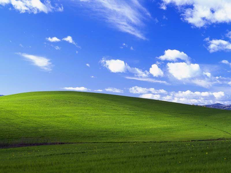 Uma paisagem muito conhecida