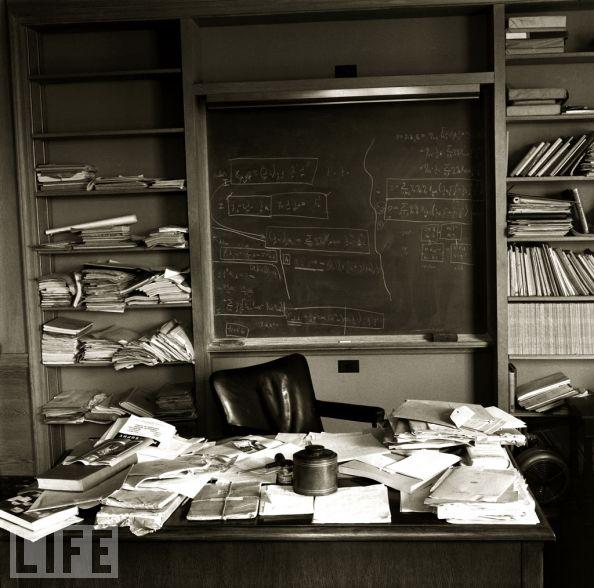 O dia da morte de Einstein