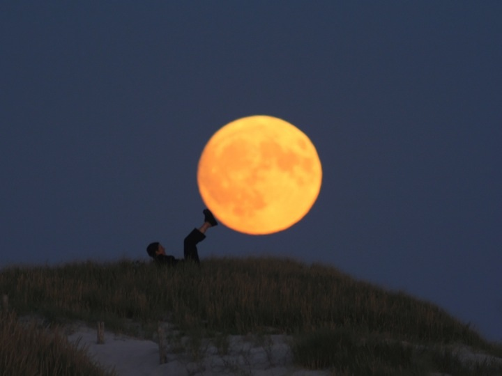 Lua charmosa 06