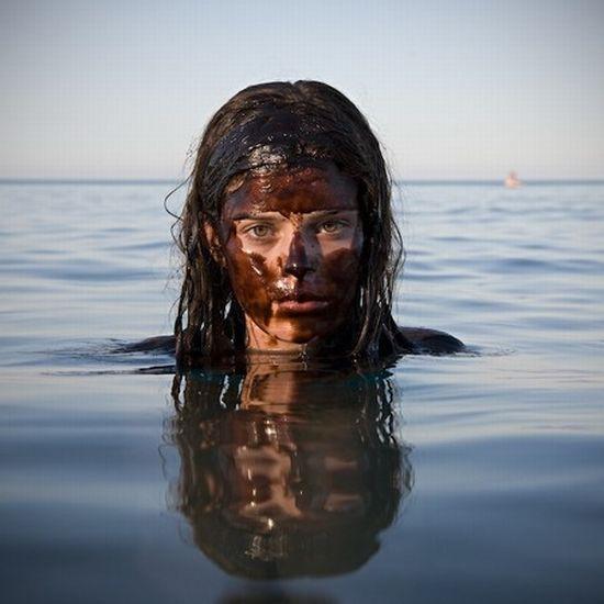 Nadando em petróleo