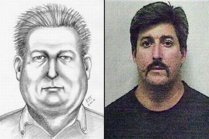 Retrato falado e retratados