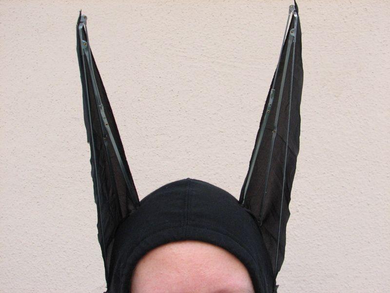 Fantasia caseira de Batman
