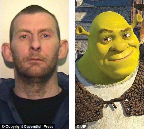 O Shrek Ladrão
