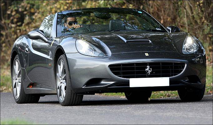 O que você faria se ganhasse uma Ferrari?