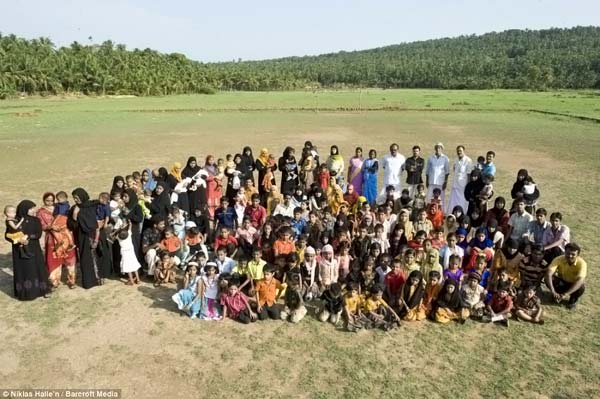 O povoado dos gêmeos, uma aldeia com cópias de segurança