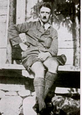 Adolf Hitler perdeu um test�culo na Primeira Guerra