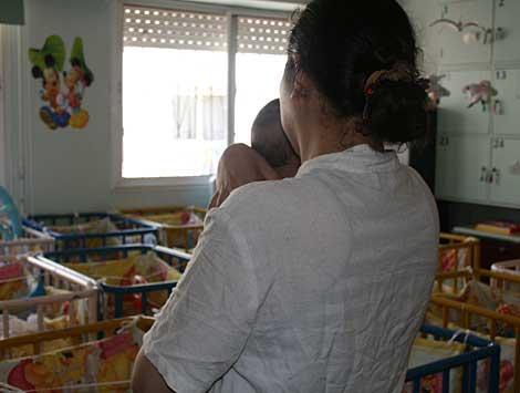 Jalila, mãe solteira no Marrocos