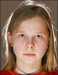 Natasha, a garota com visão de raio X