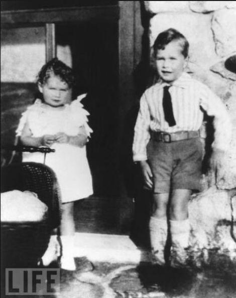 Presidentes americanso quando eram crianças
