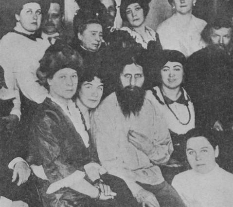 Rasputin e séquito