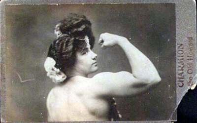 Sandwina, a mulher mais forte do mundo