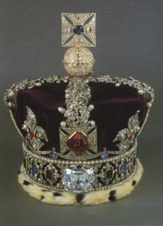 Cullinan II na coroa
