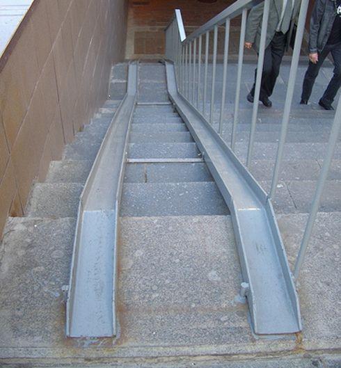Soluções de acessibilidade bizarras