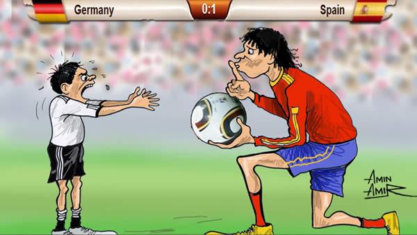 Caricaturas da Copa 2010