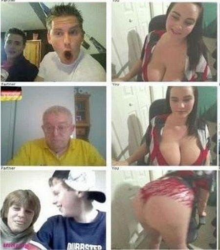 Reações dos homens a grandes seios 15
