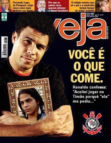 Ronaldo, o piada pronta