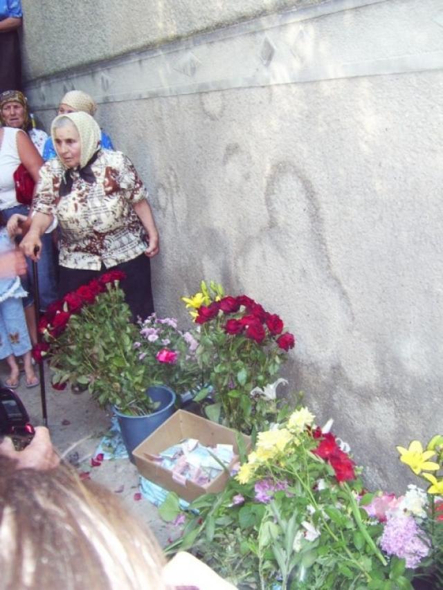 Aparição de imagem santa na Ucrânia