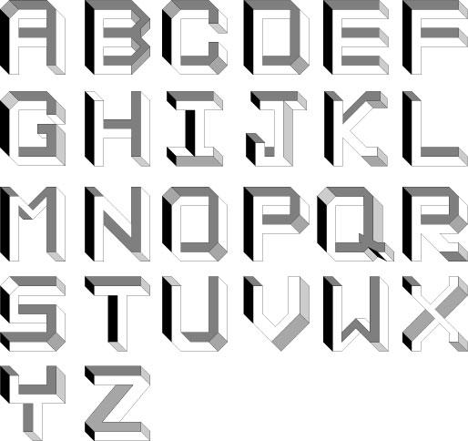 Alfabeto impossível