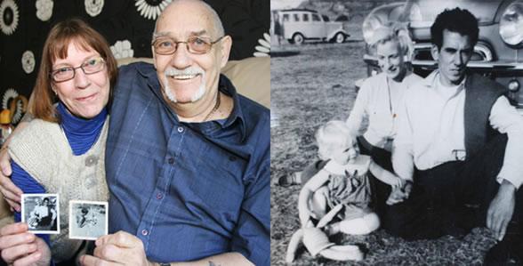 Pai e filha encontram-se no Facebook após 50 anos