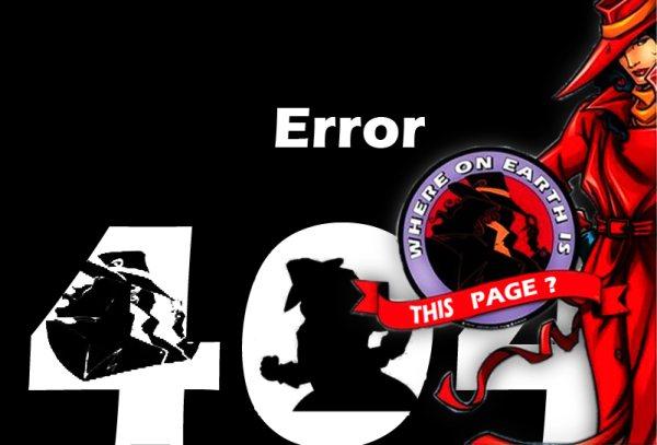 Escolha da Página 404 do MDig