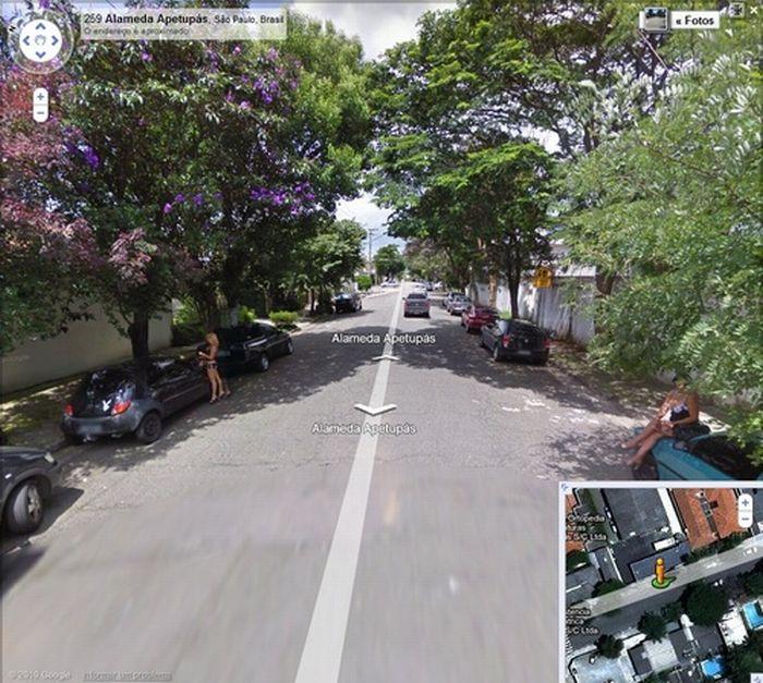 Algumas imagens do Google Stree View no Brasil 02