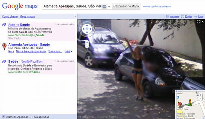 Algumas imagens do Google Stree View no Brasil 03
