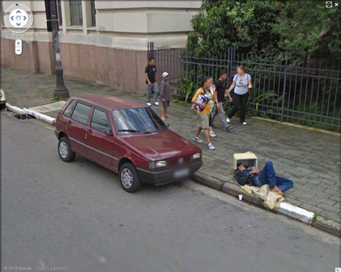 Algumas imagens do Google Stree View no Brasil 05