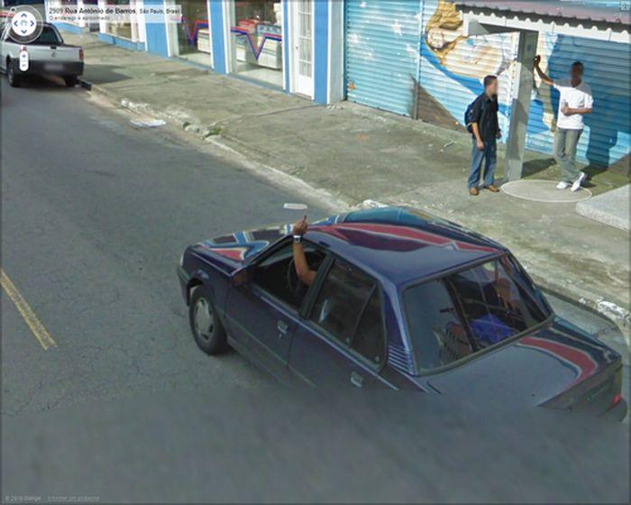 Algumas imagens do Google Stree View no Brasil 09