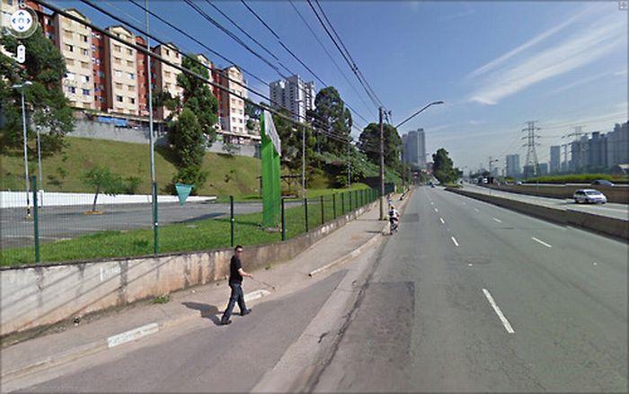 Algumas imagens do Google Stree View no Brasil 10
