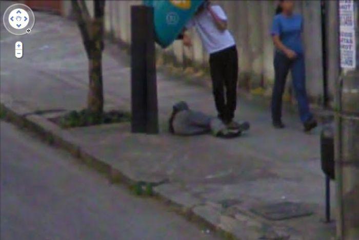 Algumas imagens do Google Stree View no Brasil 24
