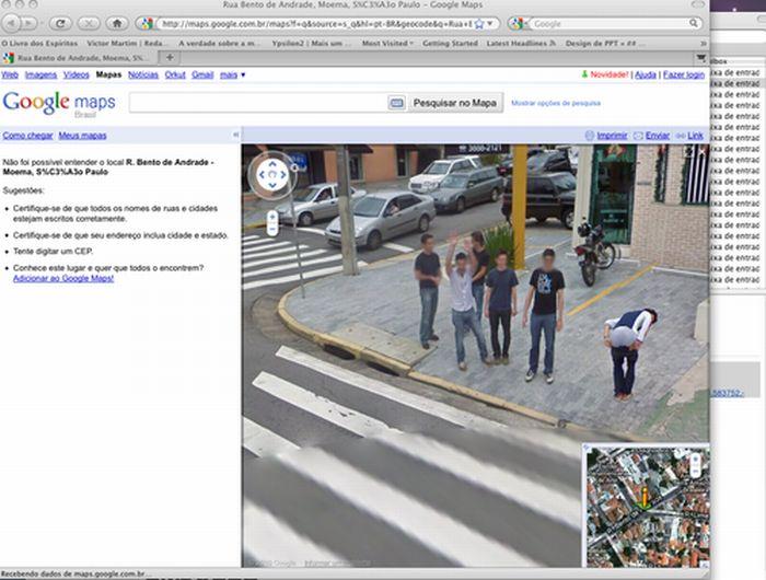 Algumas imagens do Google Stree View no Brasil 27