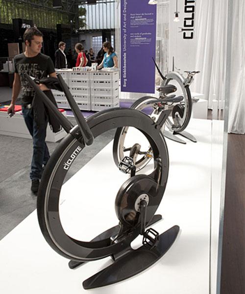 Ciclotte, a bike futurista