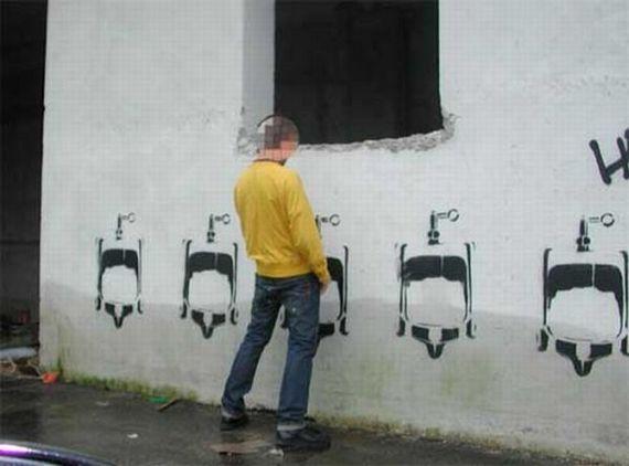 Banheiros diferentes