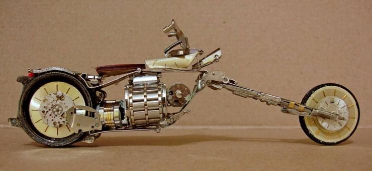 Miniatura de motos