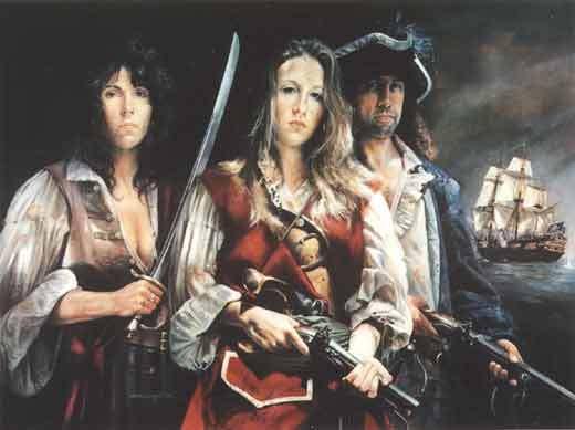 Anne Bonny, a pirata