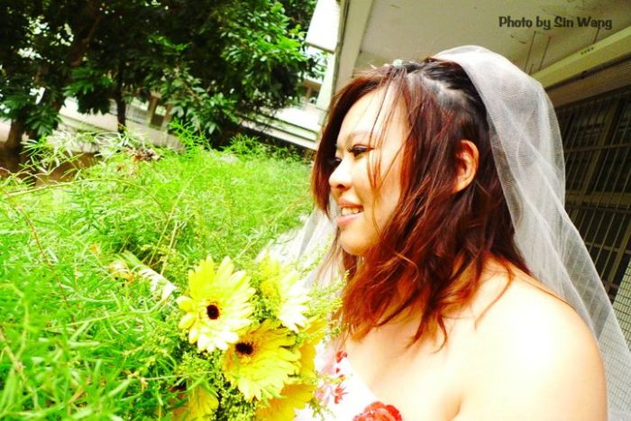 Tawainesa casa-se com ela mesma 07