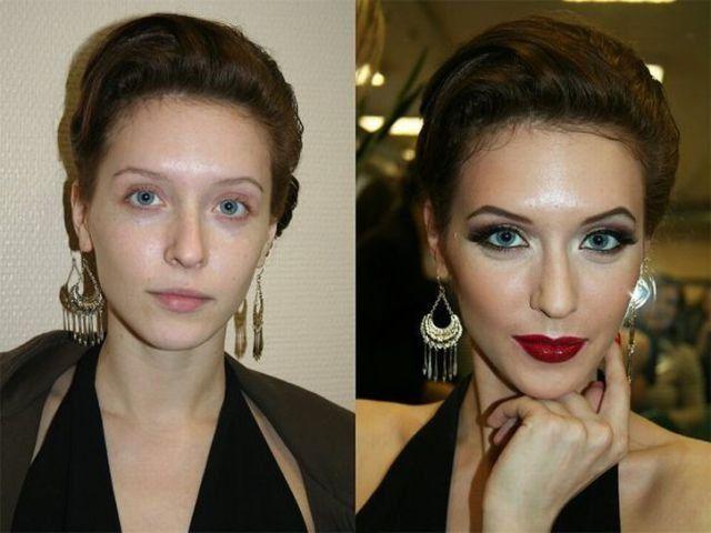 Mais uma sessão de maquiagem, antes e depois 06