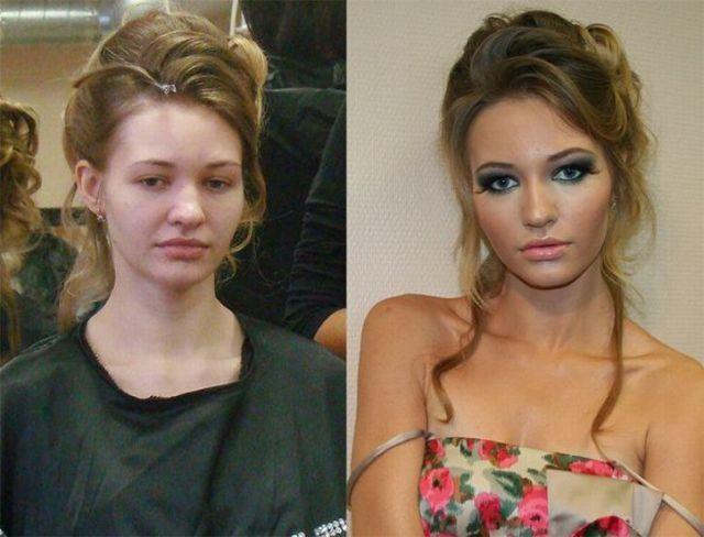 Mais uma sessão de maquiagem, antes e depois 07