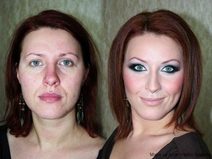 Mais uma sessão de maquiagem, antes e depois 10