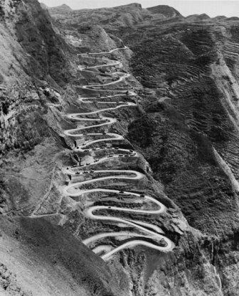 A sinuosa estrada da Birm�nia