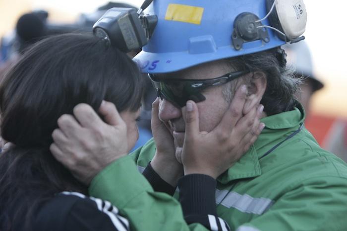 Resgate dos mineiros na mina San José
