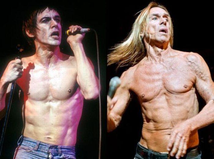 O Rock envelheceu - Estrelas do Rock, ontem e hoje